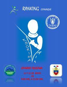 2° torneo nacional del ranking CADETE @ COYHAYQUE